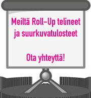 Suurkuvatulosteet Tampereella myy PK-Paino Nekalassa!