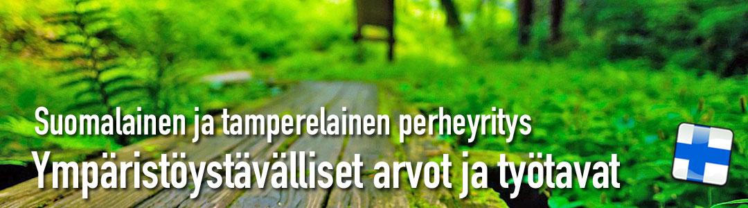 Tamperelainen perheyritys - jo vuodesta 1966