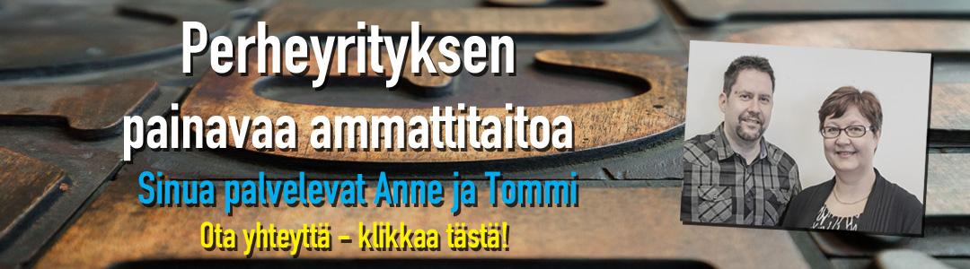PK-Paino Oy - värikästä painotoimintaa Tampereella jo vuodesta 1966