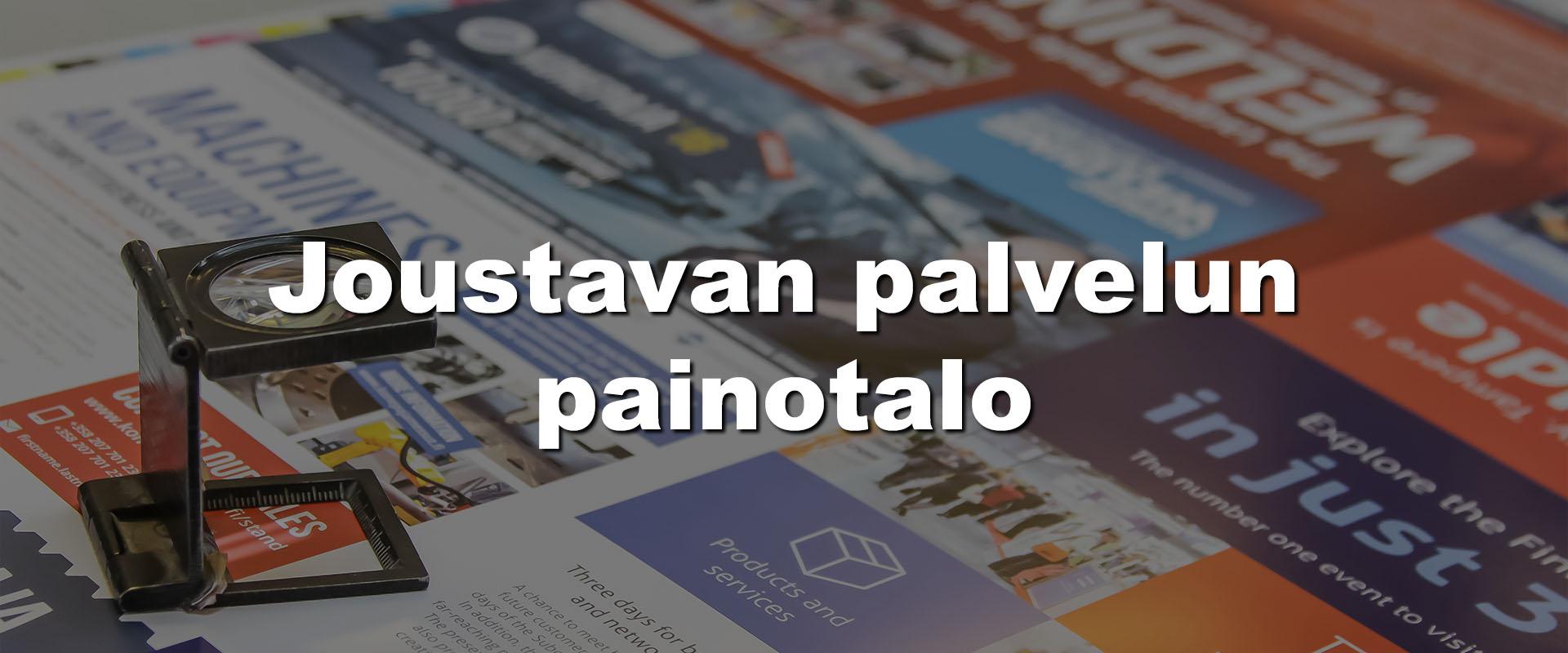 Joustavan palvelun painotalo Tampereella |PK-Paino Oy