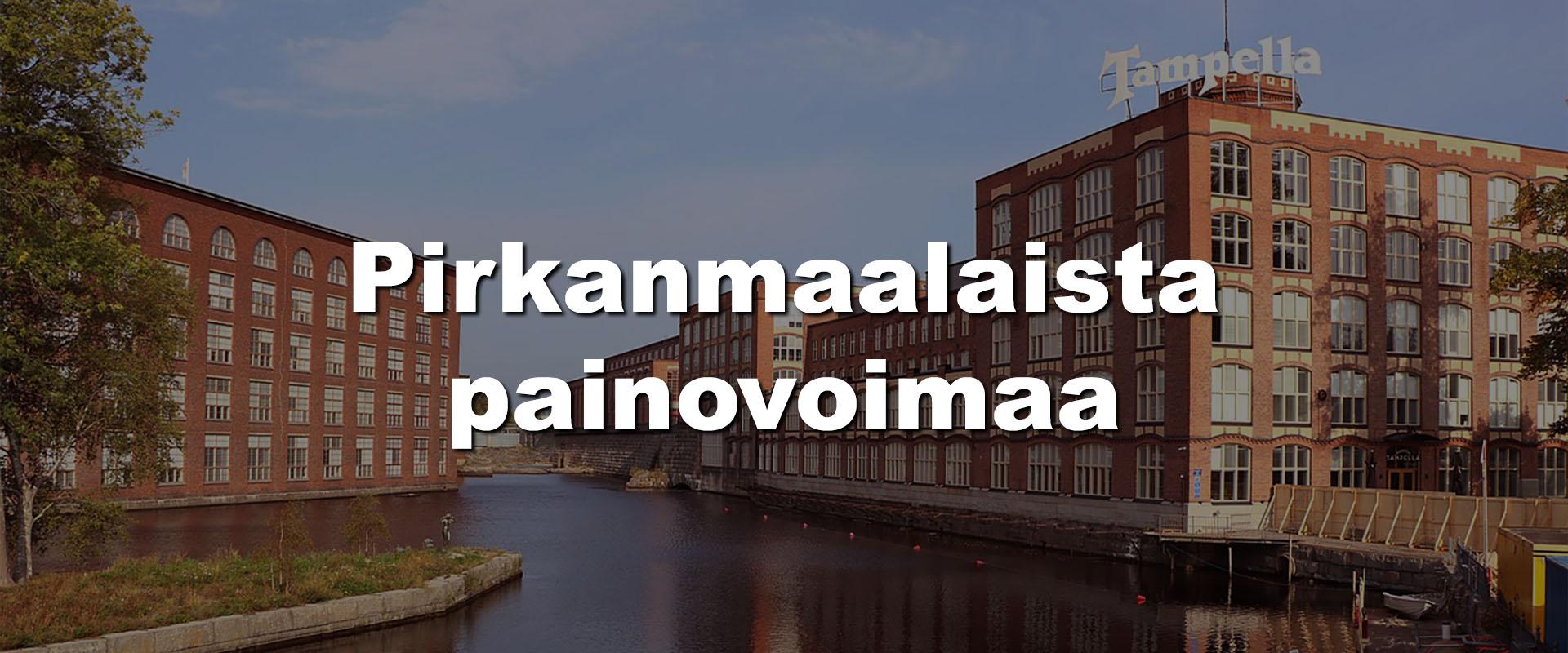 PK-Paino Oy - Tampere | Pirkanmaalaista painovoimaa