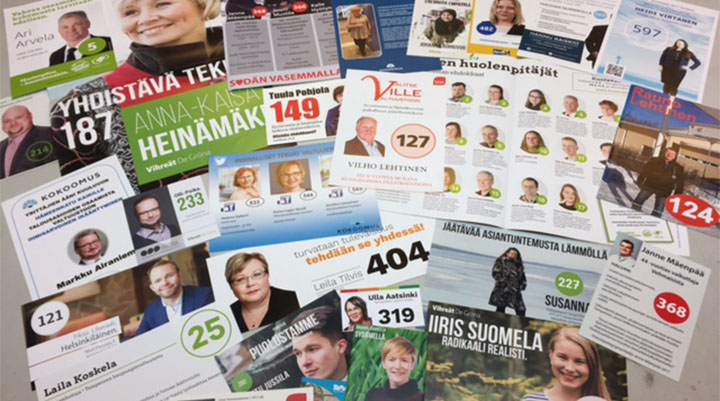 Vaalimainokset edullisesti | PK-Paino Oy - Tampere